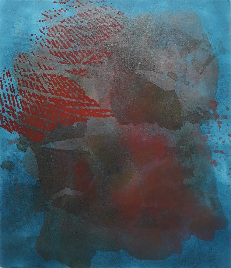 Blue red. Joanna Hyslop