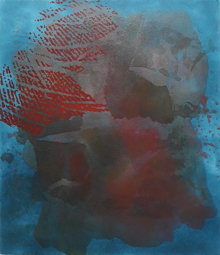 Blue red. Joanna Hyslop
